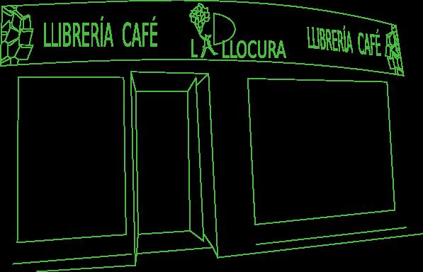 La Llocura, Llibrería - Café